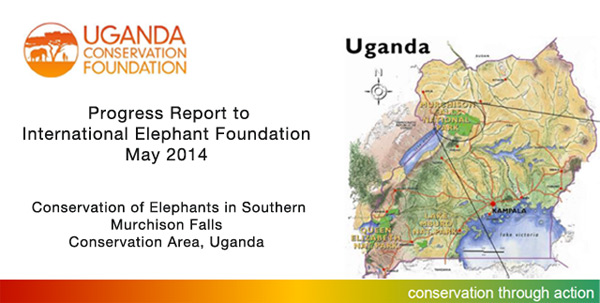 Conservation of Elephants, Uganda