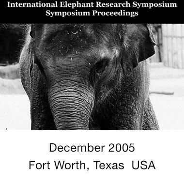 2005 Elephant Conservation - Research Proceedings